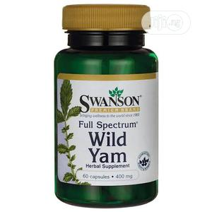Swanson Wild Yam 400mg - 60 Capsules | Vitamins & Supplements for sale in Lagos State, Lekki
