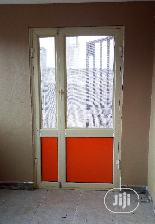 Aluminum Net And Toilet Door | Doors for sale in Abeokuta South, Ogun State, Nigeria
