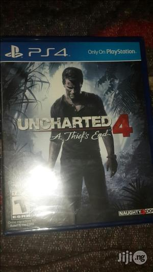 Preowned Uncharted 4 A Thieves End Ps4   Video Games for sale in Lagos State, Ikeja