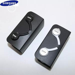 SAMSUNG Galaxy S10 AKG Earphones EO IG955 3.5mm In-ear With Mic   Headphones for sale in Lagos State, Ikeja