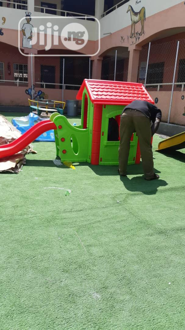 Children Playhouse With Slide