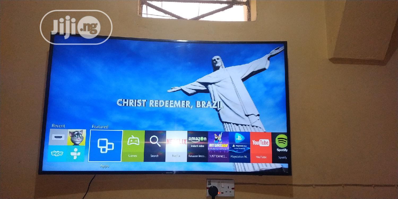 "Samsung 55"" Smart Curved UHD 4K LED TV With Wi-Fi Ready Bluetooth"