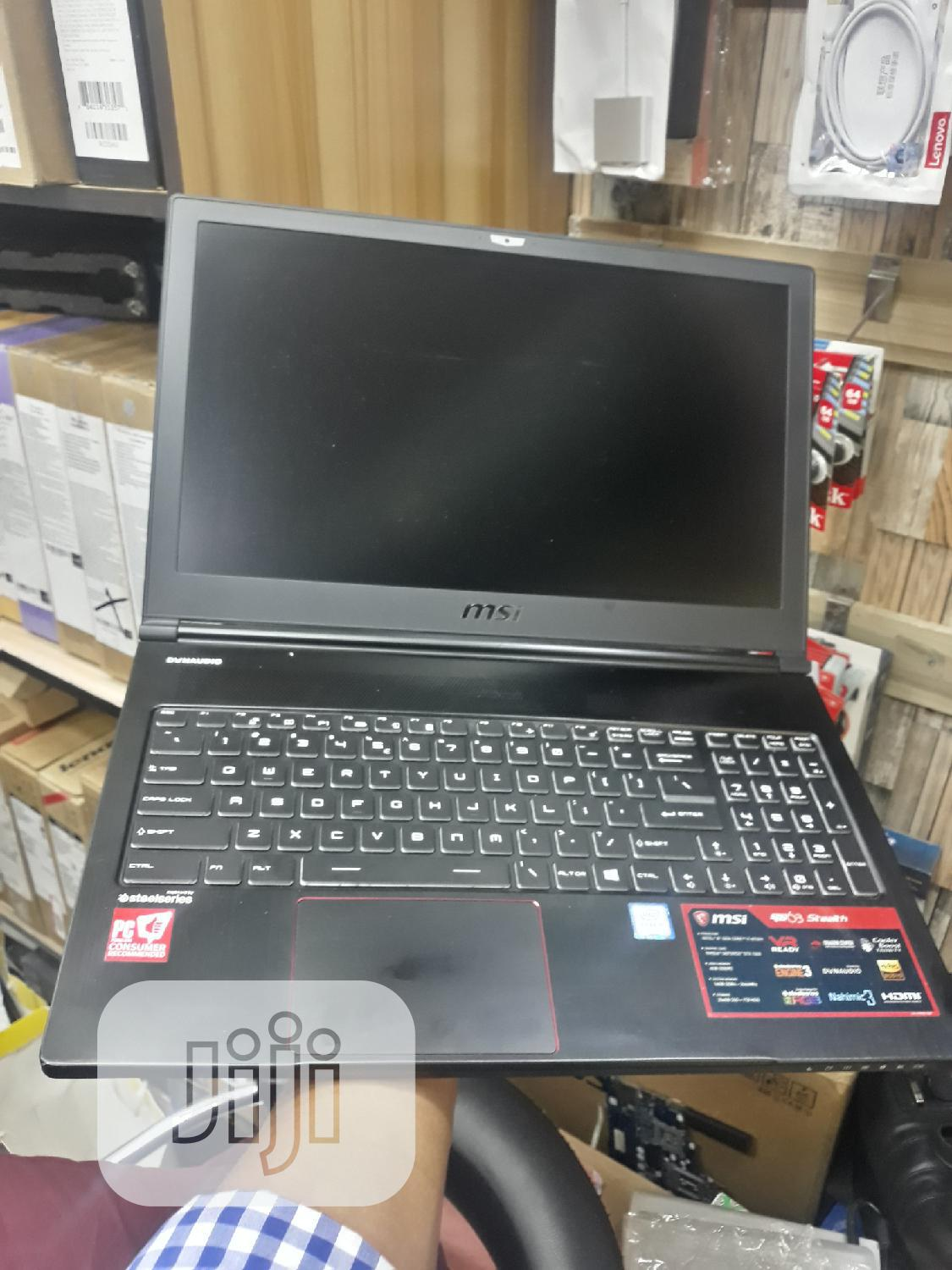 "MSI GS73VR 7RF Stealth Pro 15.6"" Inches 1T HDD Core I7 16GB RAM 