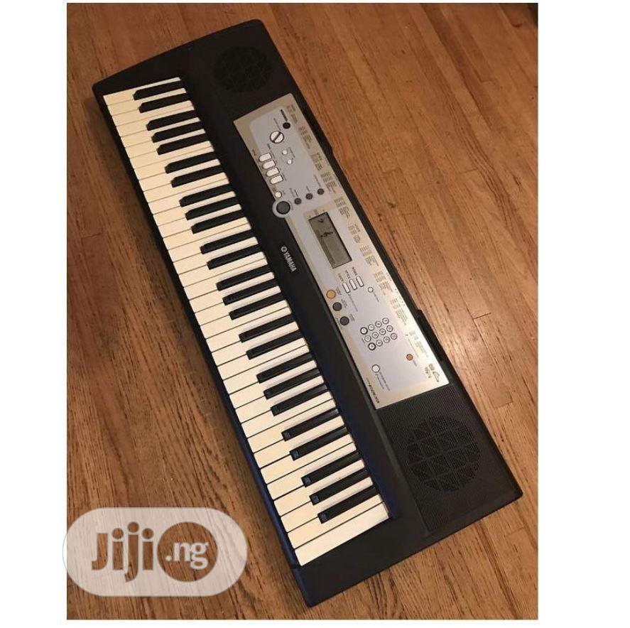 Archive: UK USED Yamaha PSR E203 61 Key Portable Keyboard