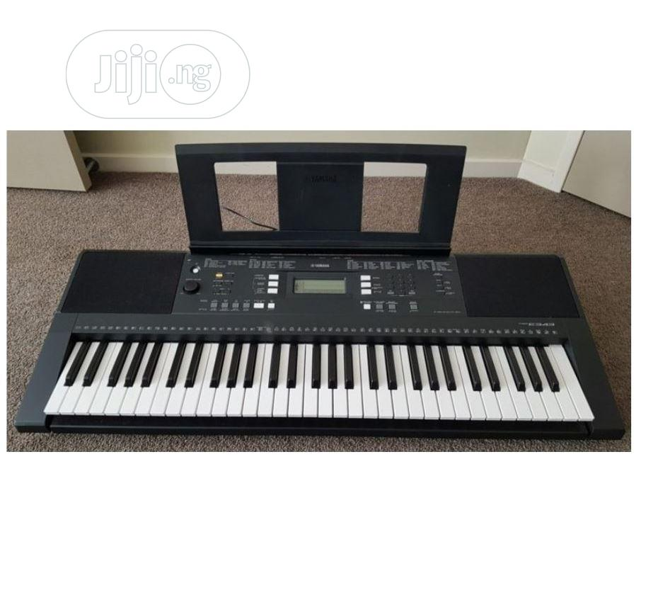 Archive: UK USED Yamaha PSR E343 61-Key Portable Keyboard