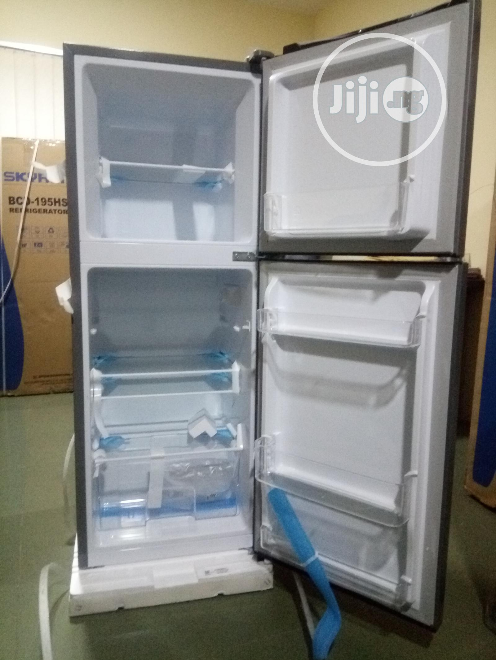 Hisense Refrigerator 130l Double Door -Ref-182dr | Kitchen Appliances for sale in Central Business Dis, Abuja (FCT) State, Nigeria