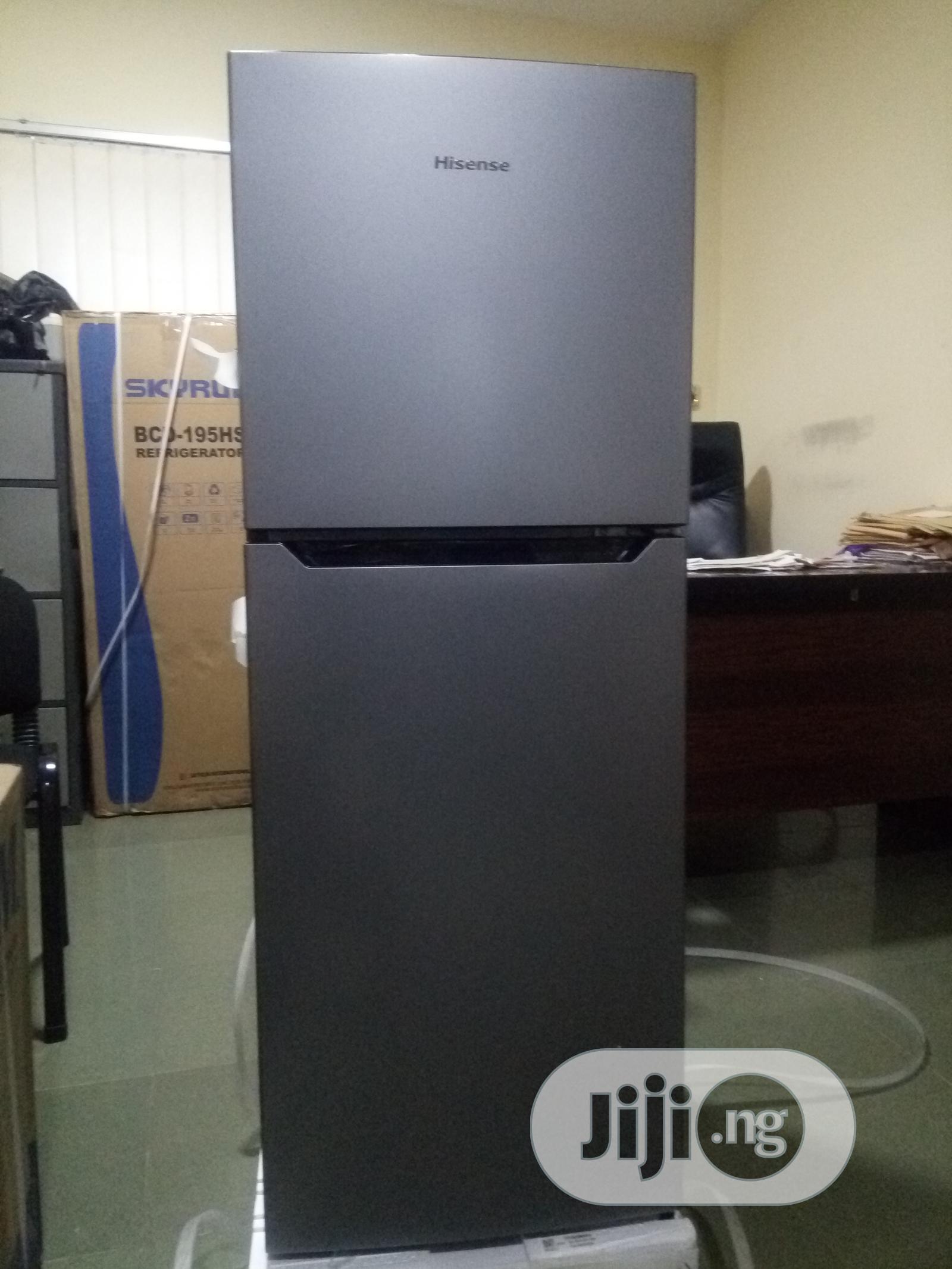 Hisense Refrigerator 130l Double Door Ref-182dr (Visit Www.Reco.Ng)