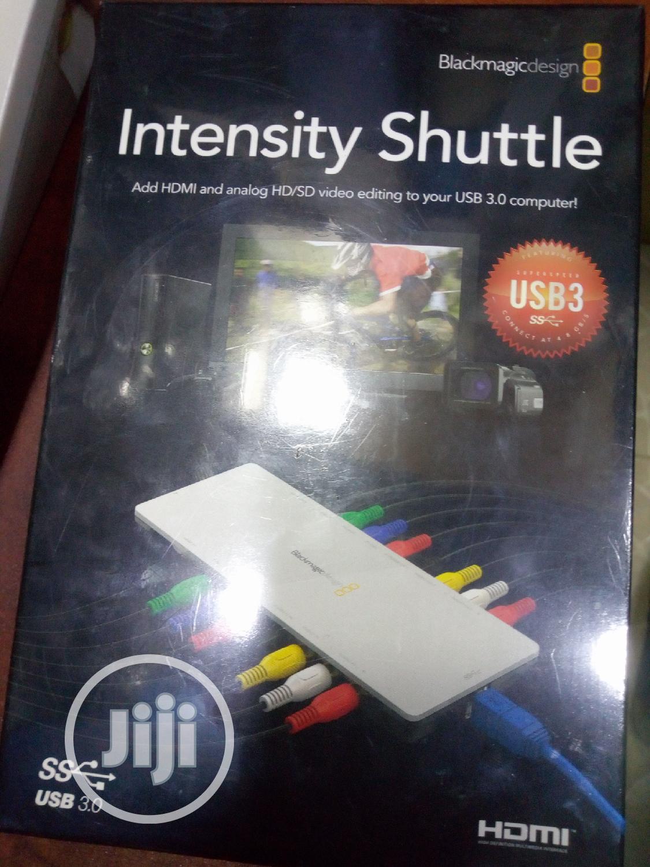 The Blackmagic Design Intensity Shuttle For Usb 3 0 In Ojo Accessories Supplies For Electronics Rujohn Mega Concept Ltd Jiji Ng