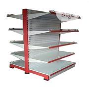 Double Sided Supermarket Steel Display Shelves | Store Equipment for sale in Lagos State, Yaba