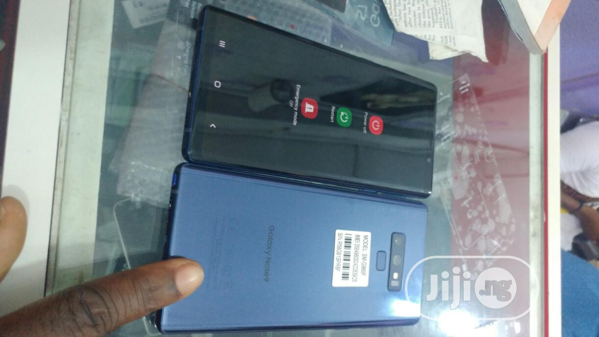 Samsung Galaxy Note 9 128 GB Blue   Mobile Phones for sale in Ikeja, Lagos State, Nigeria