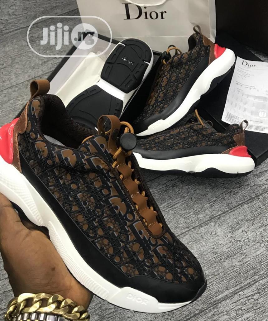 Dior Monogram Sneakers in Lagos Island