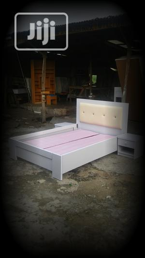 Bed Frame,,,,4/5x6,,,, With,,, Bedside Drawers   Furniture for sale in Lagos State, Lekki