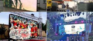 PH5 Outdoor Rental LED Screen 640×640mm By Hsl | Photography & Video Services for sale in Rivers State, Port-Harcourt