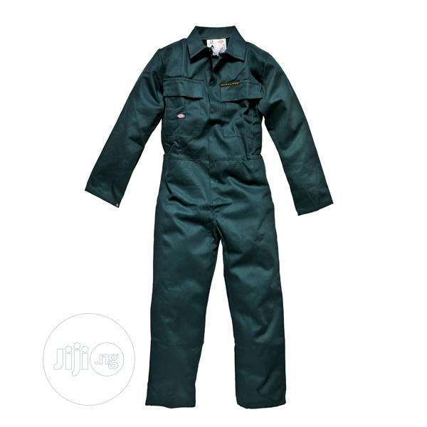 Dickies Probancotton Flame Retardant Overall (Green)