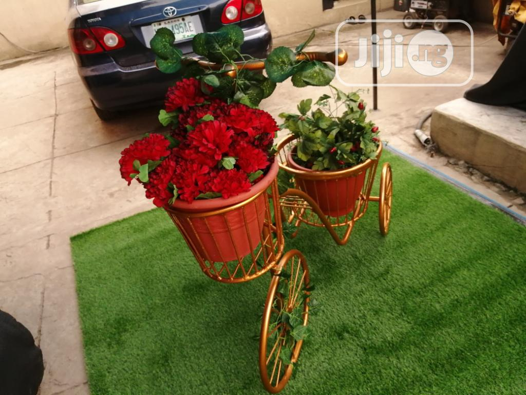 3 Wheels Planter Stand At Sales Nationwide