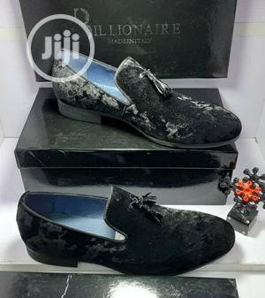 Billionaire Velvet Leather Shoes   Shoes for sale in Lagos State, Lagos Island (Eko)