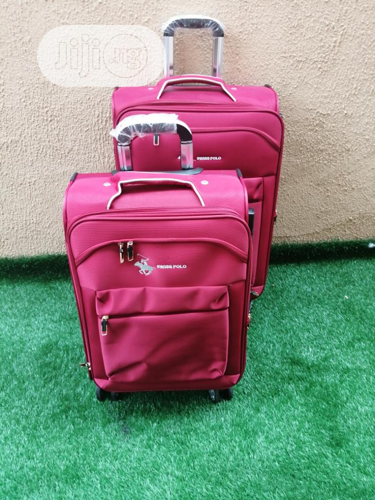 Executive 4 Wheeled Trolley Luggages