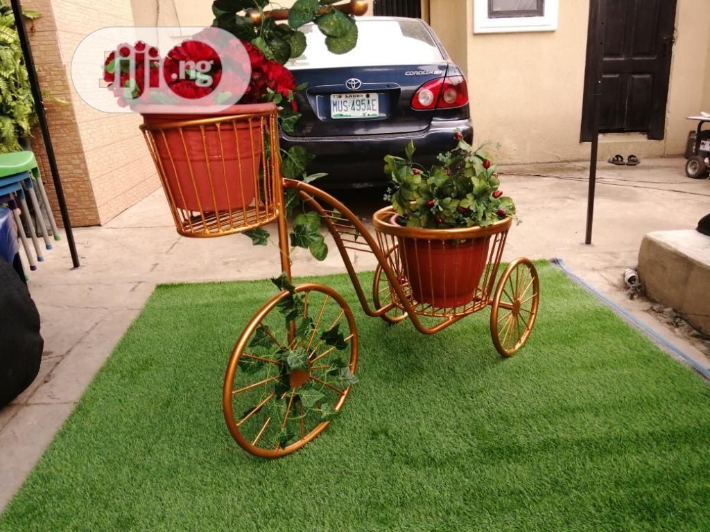 3 Wheels Planter Stand At Sales On Affordable Price Nationwide