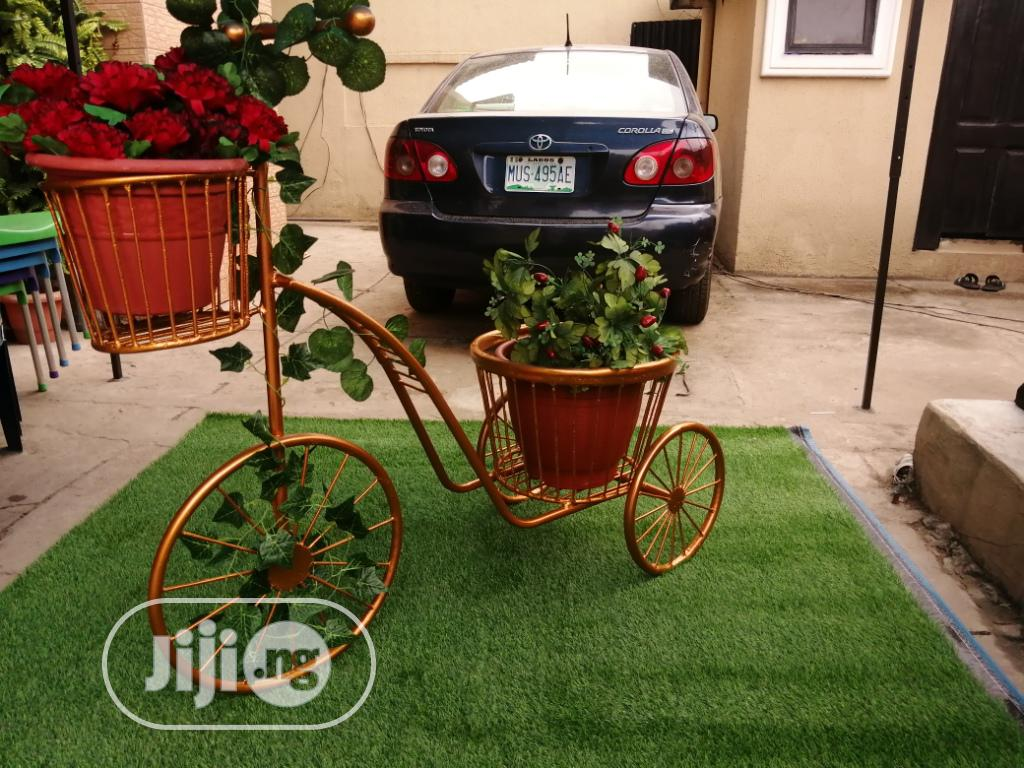 3 Wheels Planter Stand At Sales On Affordable Cost Nationwide | Manufacturing Services for sale in Jalingo, Taraba State, Nigeria