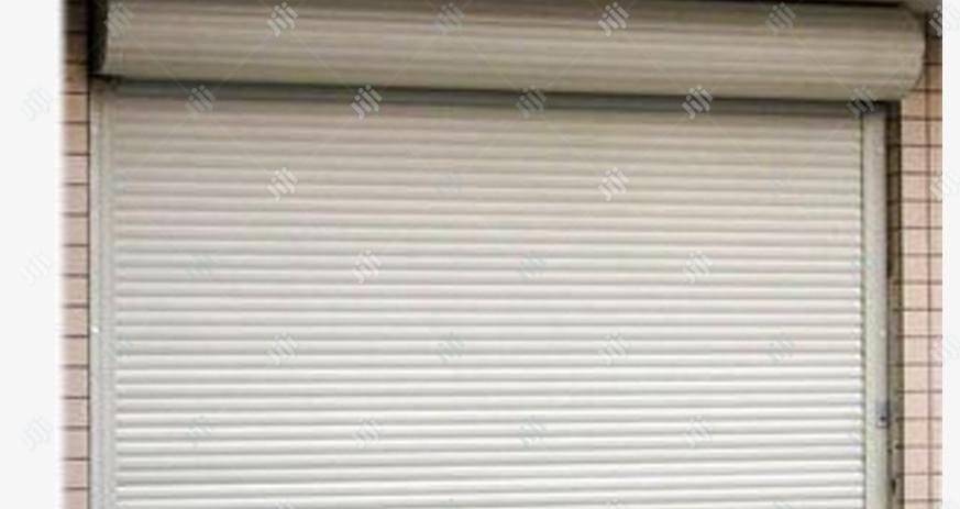 Roller Shutter Garage Door With Spring By Hip Sol