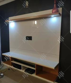 White & Brown Tv Shelve | Furniture for sale in Lagos State, Ajah