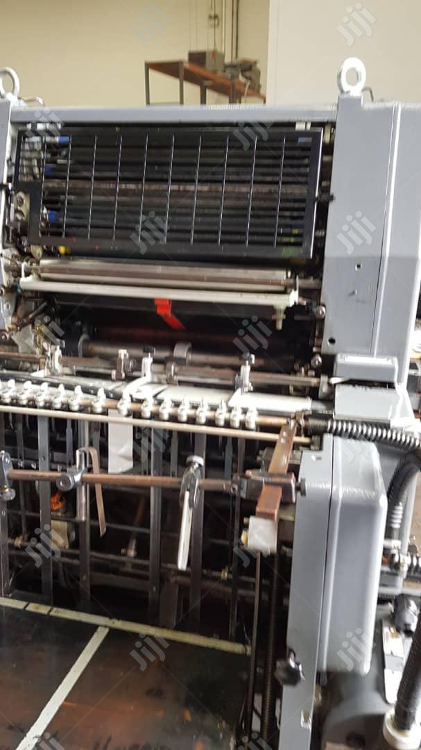 Heidelberg Gto 46 Single Colour Offset Printing Machine