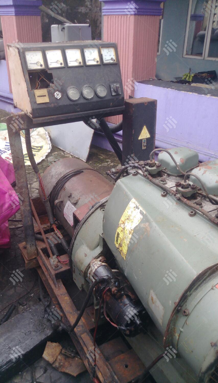Archive: Rugged Hatz/Duetz Industrial German Generator