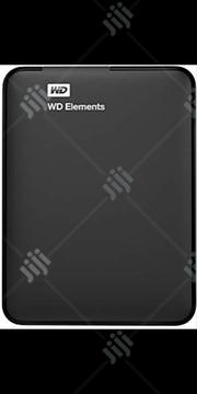 WD 1TB WD Elements Portable USB 3.0 Hard Drive Storage   Computer Hardware for sale in Lagos State, Ikeja