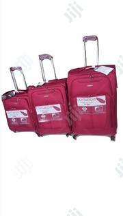 Samsonite 3pcs. Travel Bag Red | Bags for sale in Lagos State, Alimosho
