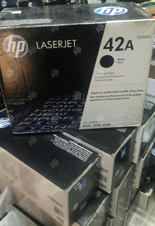 Archive: HP 42A Black Toner Cartridge