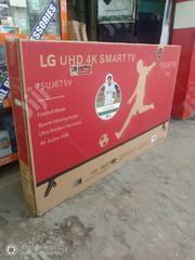 """LG 75""""Inch Uhd 4K Smart TV Super Slim Flat Built In - Wi-fi 2 Years 