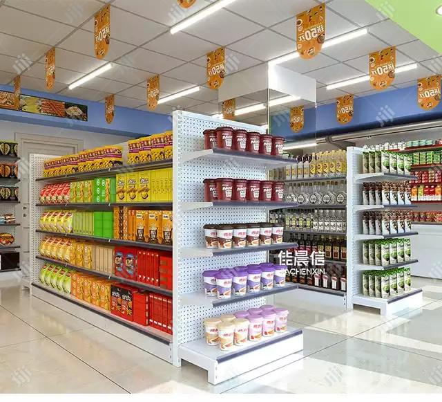 Metal Supermarket Display Rack For Beverages Drinks Stand Shelf | Store Equipment for sale in Lagos State, Nigeria