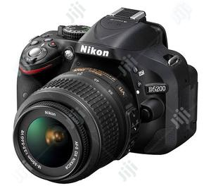 Nikon D5200 With 18-55mm Lens (Brand New) | Photo & Video Cameras for sale in Lagos State, Ikeja