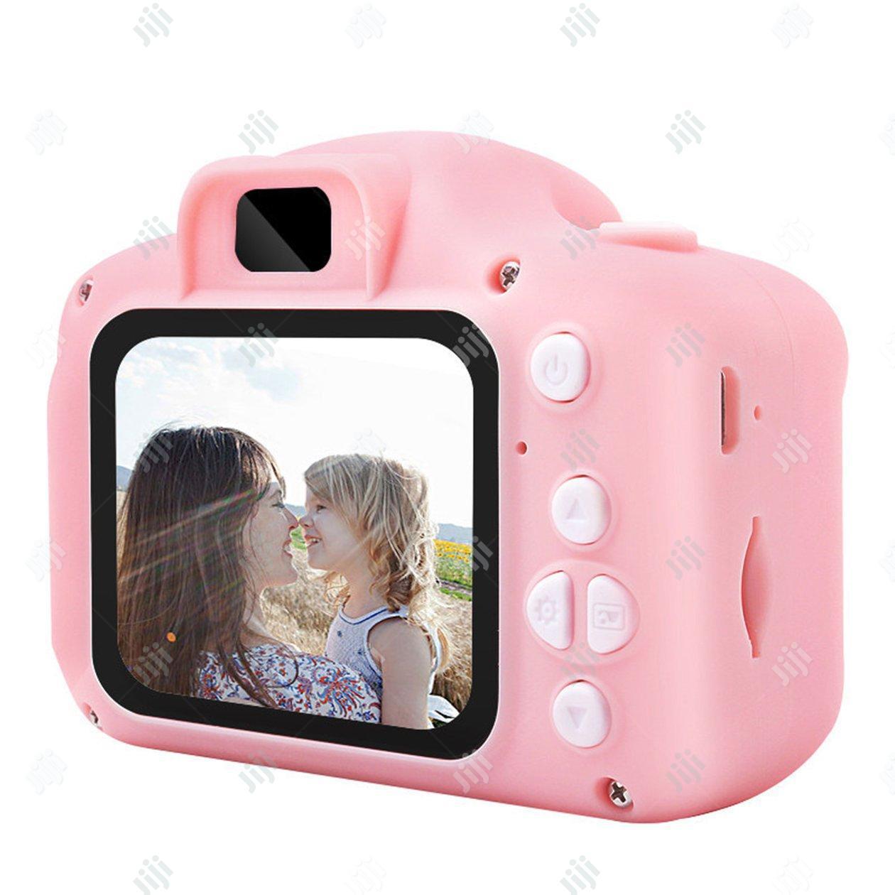 Multipurpose Cartoon Digital Camera For Kids - Pink   Toys for sale in Ikeja, Lagos State, Nigeria