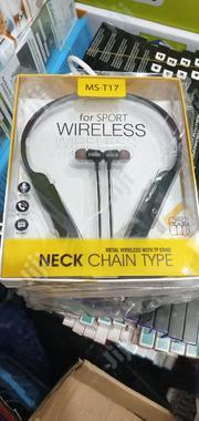 Mst17neck Earphone | Headphones for sale in Lagos State, Lekki Phase 1
