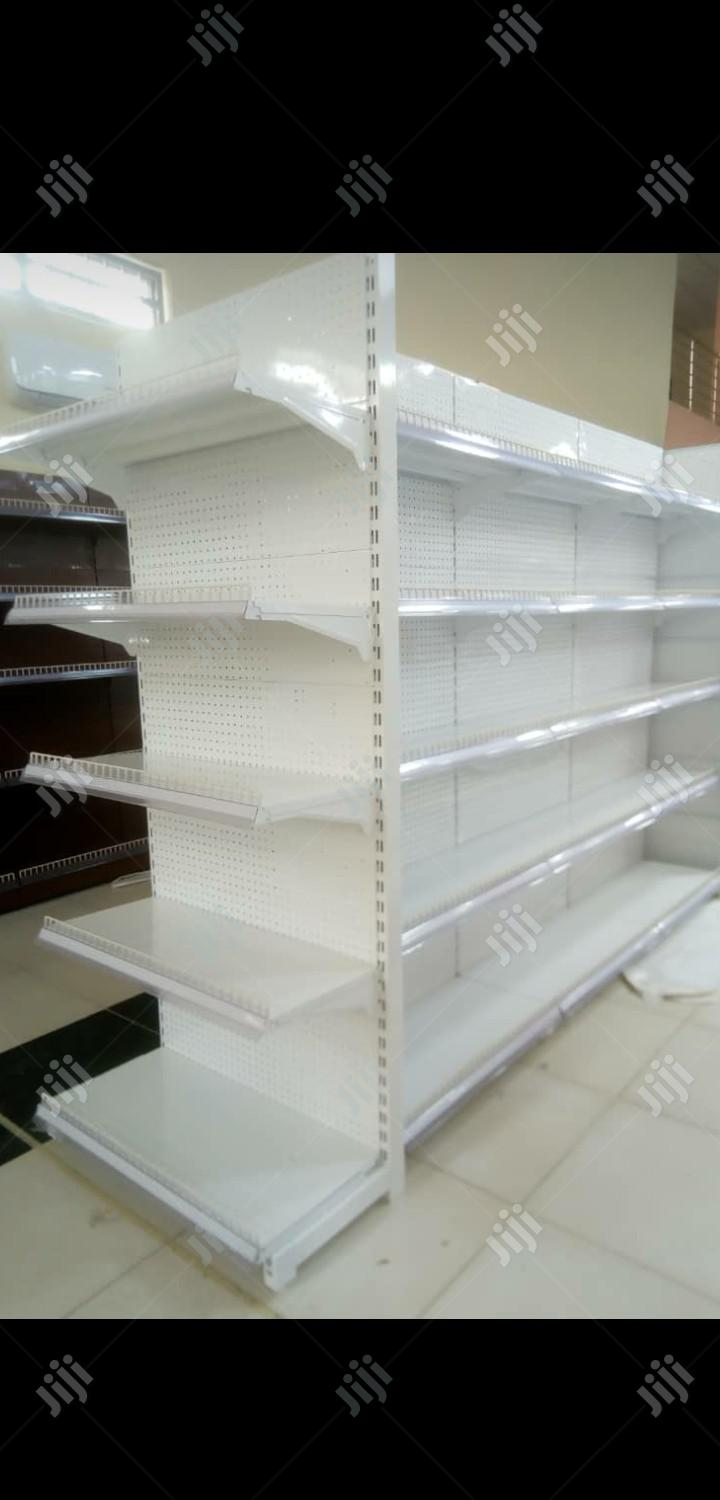 Best Quality Single Sided Supermarket Dispkay Shelving | Store Equipment for sale in Lagos State, Nigeria