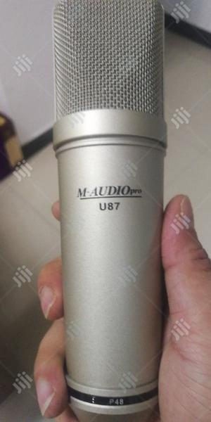 U87 M-audiopro Condenser Microphone.   Audio & Music Equipment for sale in Lagos State, Oshodi