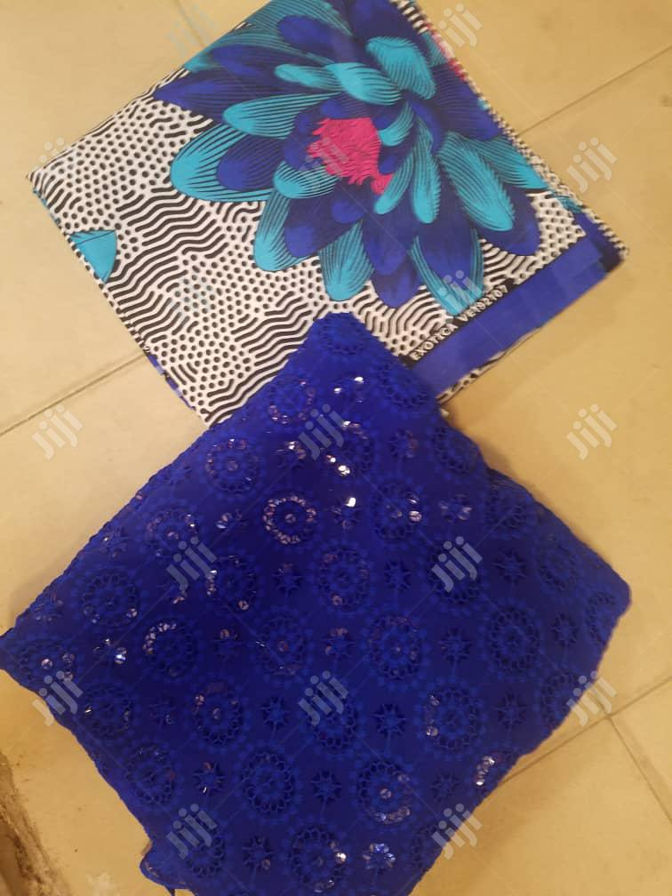 Ankara And Lace Combo | Clothing Accessories for sale in Aba South, Abia State, Nigeria