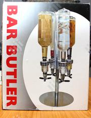 4 Heads Stainless Steel Bar Butler Rotary Wine Juice Tail Dispenser | Restaurant & Catering Equipment for sale in Lagos State, Surulere