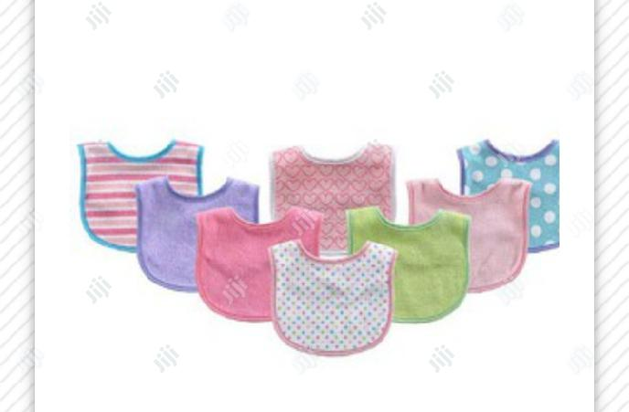 Luvable Friends 8-Pack Colorful Printed Baby Bibs | Baby & Child Care for sale in Ibadan, Oyo State, Nigeria