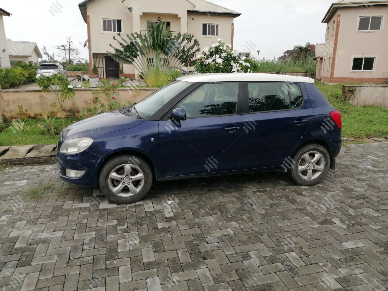 Skoda Fabia 2013 Blue | Cars for sale in Ajah, Lagos State, Nigeria
