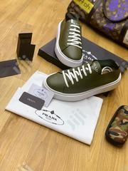 Quality Prada Men's Leather Sneakers | Shoes for sale in Lagos State, Lagos Island