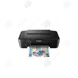 Canon Pixma E414 Inkjet Print, Scan Copy Printer - Black | Printers & Scanners for sale in Lagos State, Ikeja