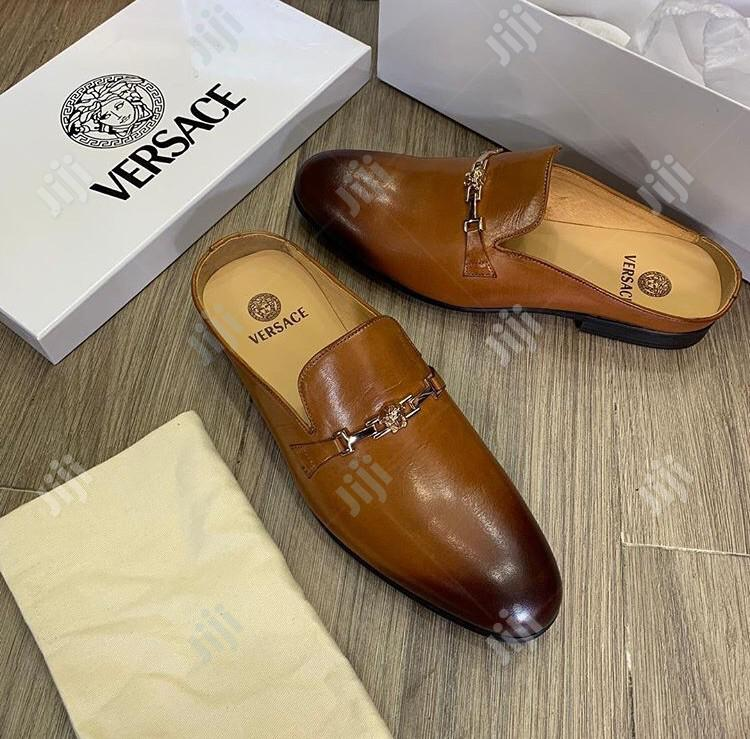 Versace and Ferragamo Half Shoe Available as Seen Swipe to See Others