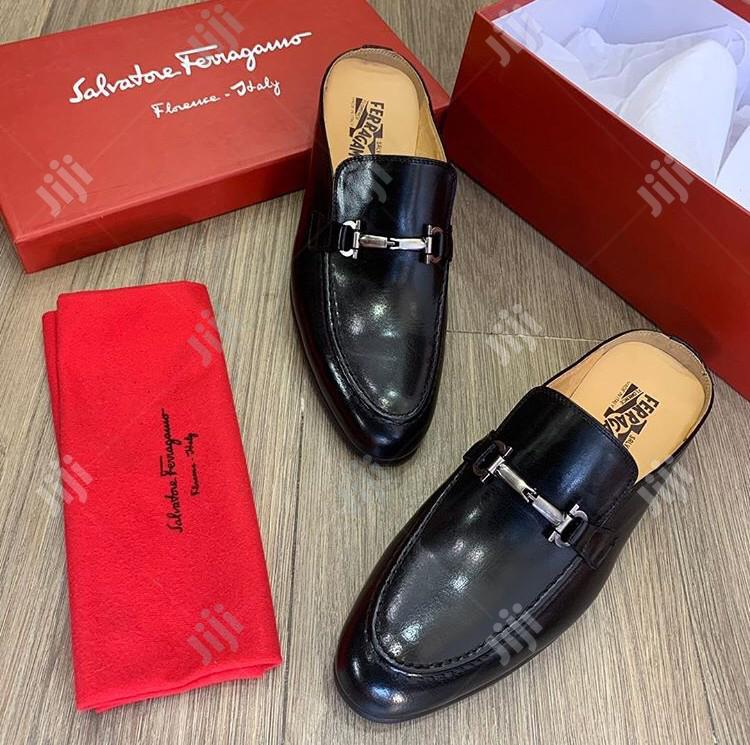 Versace and Ferragamo Half Shoe Available as Seen Swipe to See Others | Shoes for sale in Lagos Island (Eko), Lagos State, Nigeria
