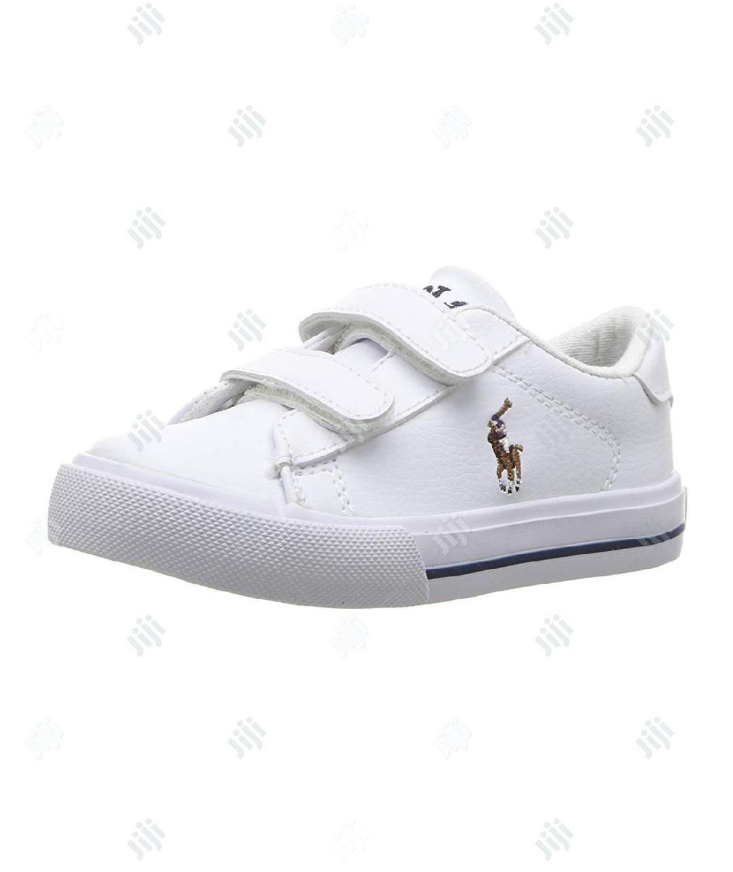 Polo Ralph White Sneakers