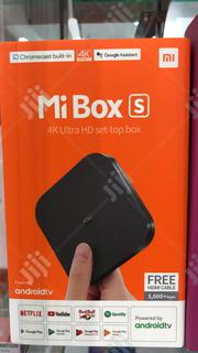 Xaomi MI Box S Android TV | TV & DVD Equipment for sale in Lagos State, Ikeja