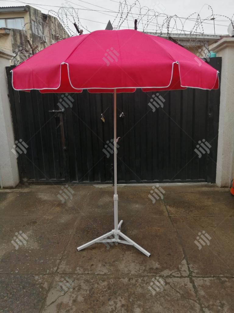 Quality Parasol Umbrella With Modern Stand