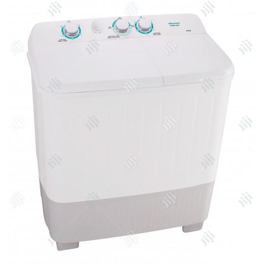 Super Hisease 10kg Washing Twin Tub Wash and Spin + Warranty 1 Years