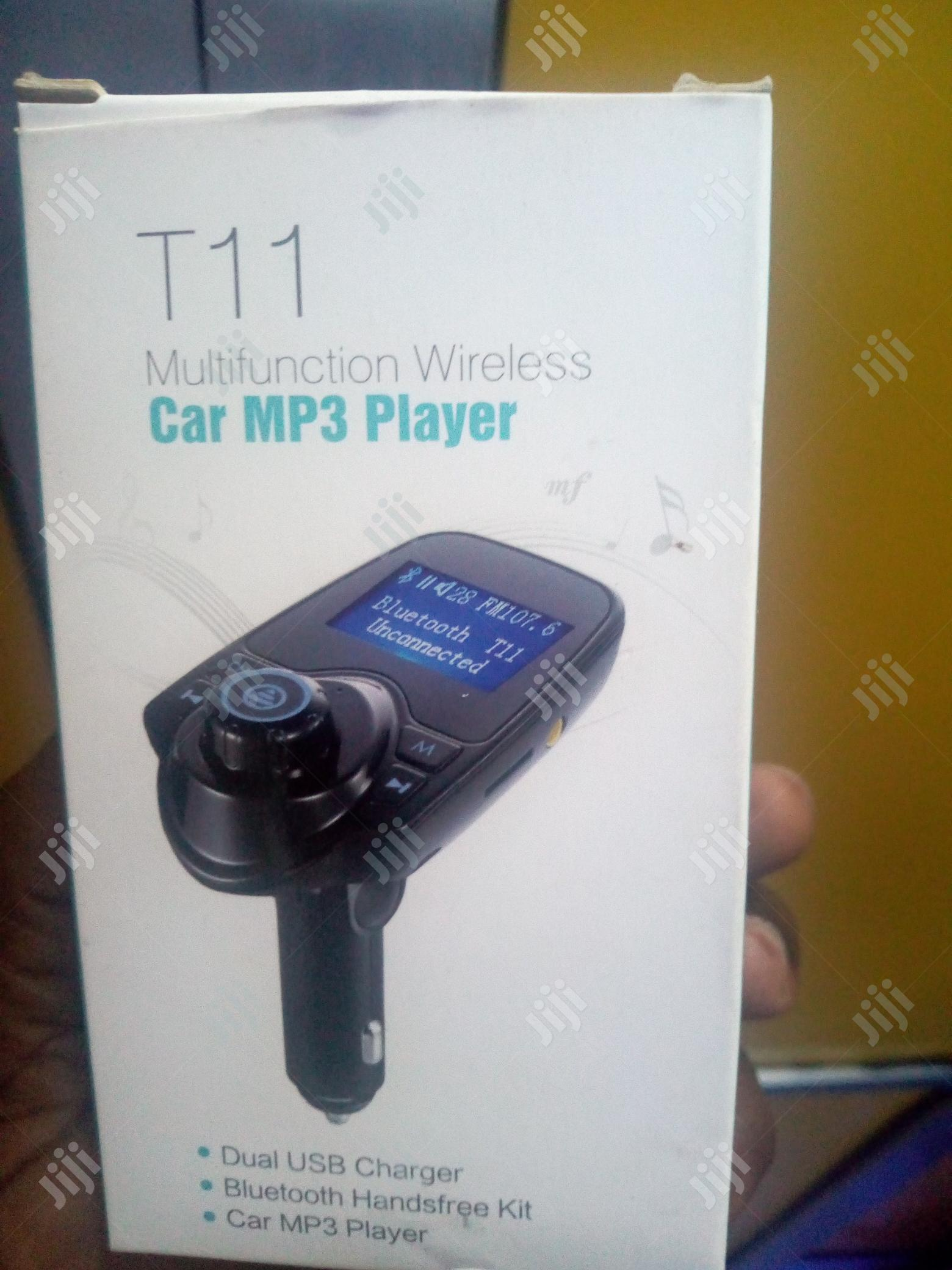 Bluetooth Car USB Charger FM Transmitter Adapter MP3 Player | Vehicle Parts & Accessories for sale in Ikeja, Lagos State, Nigeria
